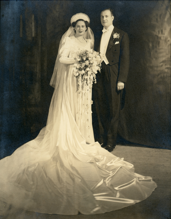silverman-1941-wedding-album