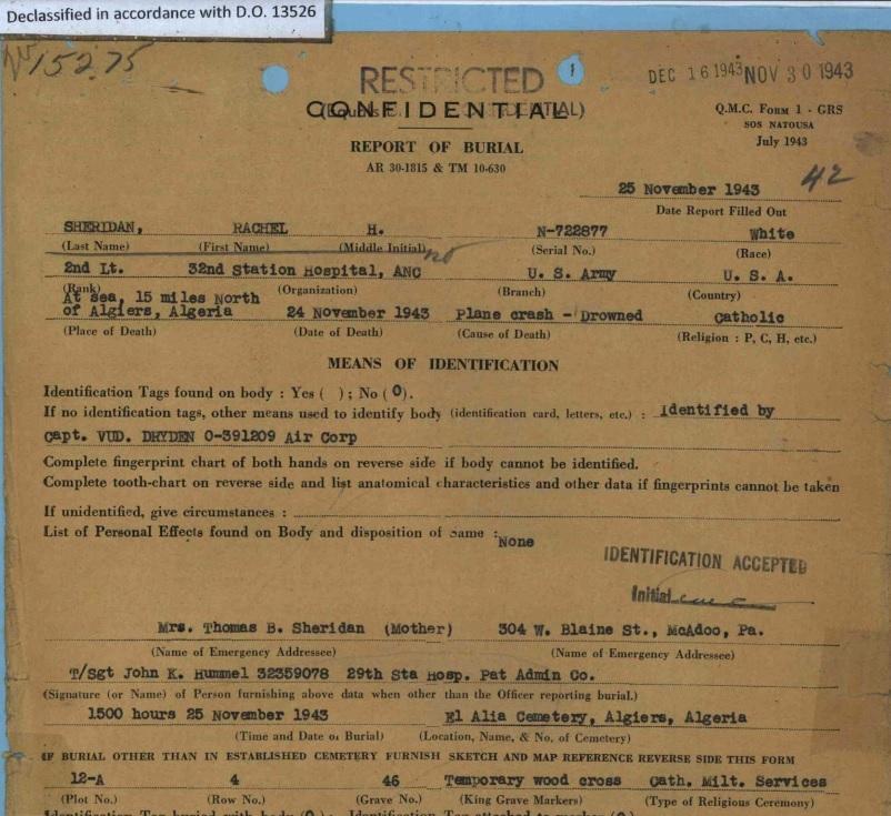 Sheridan-Report-of-Burial