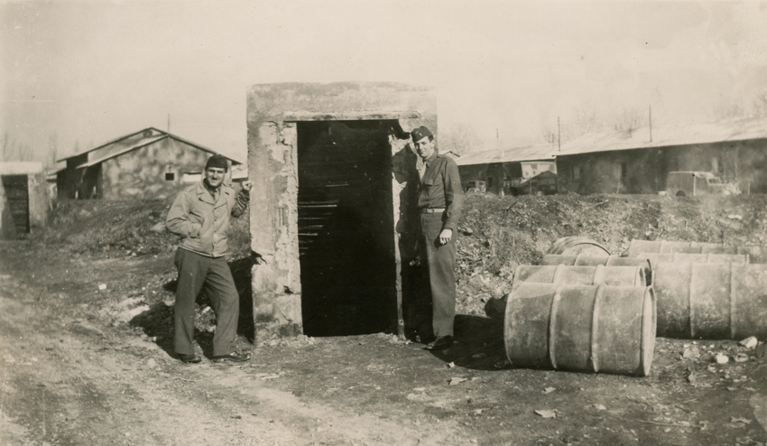 Dr-Weiner-Collection-Air-Raid-Shelter-Entrance-Caserta