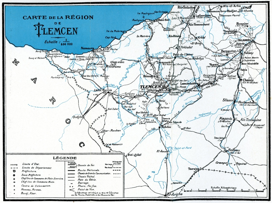 Griffin-Collection-Tlemcen-Map