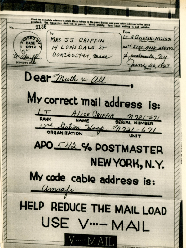 Griffin-V-mail-26-June-1943