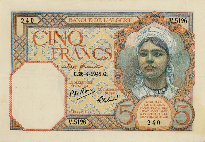 Griffin-Cinq-Francs