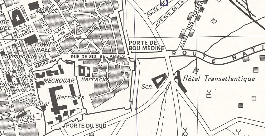 Tlemcen-1942-map