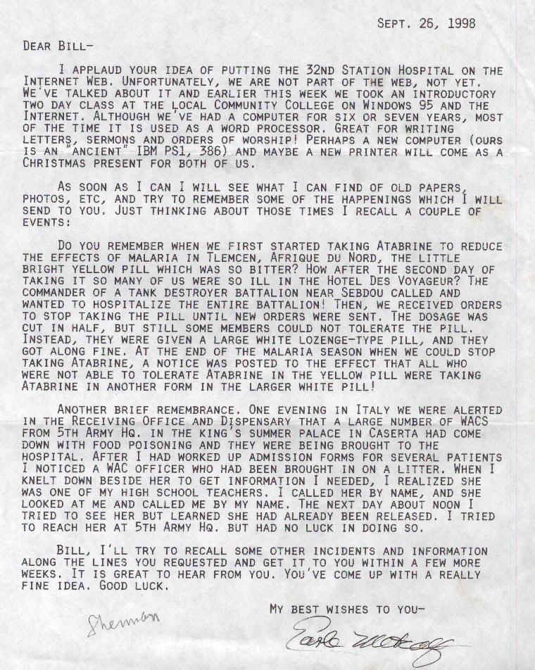Metcalf letter