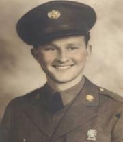 Rhufus Allen World War II Portrait